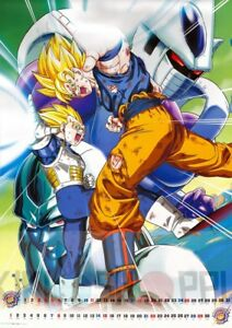 Poster A3 Dragon Ball Goku Super Saiyan Manga Anime Cartel Decor Impresion 02