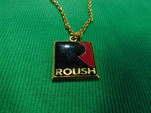 FORD MUSTANG ROUSH MUSTANG F150 STAGE 1 2 3 ROUSH R LOGO PROMO NECKLACE NICE!!