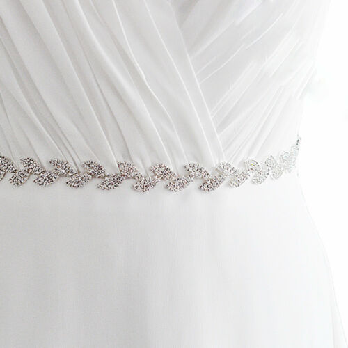 Brautgürtel Taillenband Damen Gürtel Abendkleidgürtel Strass Strassgürtel NEU
