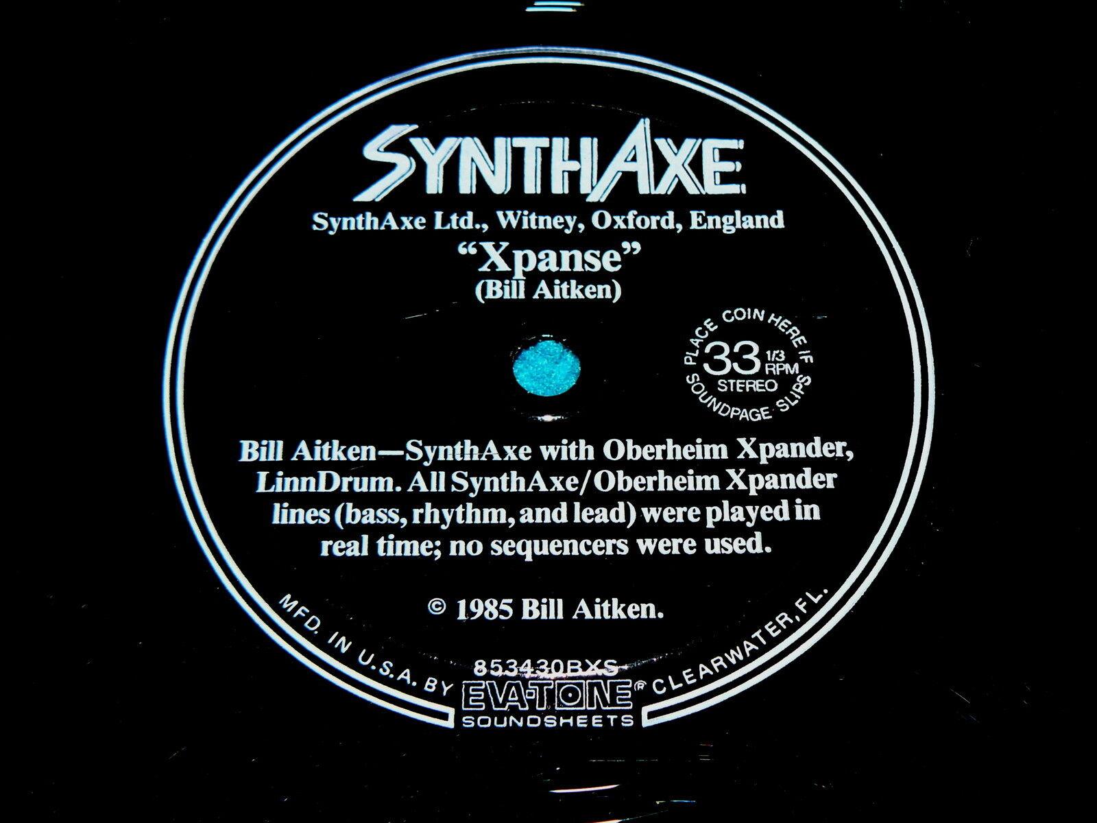 SynthAxe : BILL AITKEN promo 7