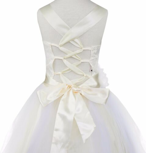 Flower Girl Dress Pageant Wedding Bridesmaid Formal Kids Party Princess Dresses