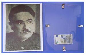 MANUILSKY-Russia-URSS-Comunismo-quadro-cornice-vetro-cm-30x24