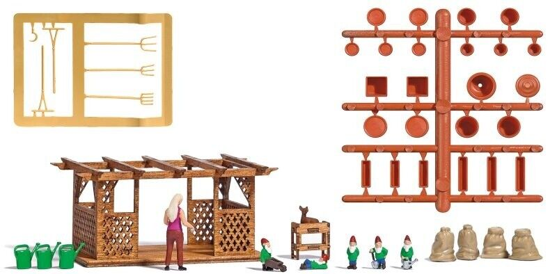 Faller 180923 1:87 Mondi Miniatura Kit h0 caricamento istituzione