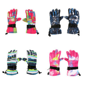 Men-Women-Winter-Warm-30-Waterproof-Windproof-Snow-Snowboard-Ski-Gloves