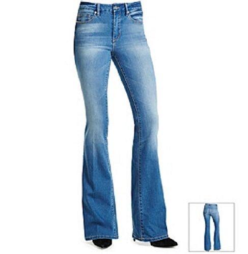 Jessica Simpson Uptown Slim Galena Nightshade Flare Stretch Jeans 60387423-0AL