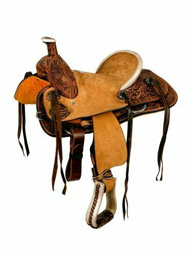WESTERN PLEASURE TRAIL 12 DoubleT YouthPony KID hardseat roper FQH SHOW saddle