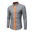 Fashion-Mens-Luxury-Casual-Stylish-Slim-Fit-Long-Sleeve-Casual-Dress-Shirts-Tops thumbnail 2