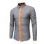 thumbnail 2 - Fashion-Mens-Luxury-Casual-Stylish-Slim-Fit-Long-Sleeve-Casual-Dress-Shirts-Tops