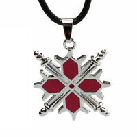 Hot Sale Anime Vampire Knight Logo Necklace Pendant Cosplay With Black Rope