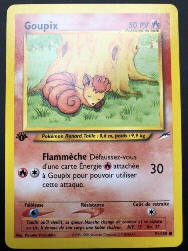Carte Pokemon GOUPIX 91//105 Commune Néo Destiny Wizard EDITION 1 FR NEUF