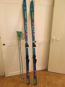 Skisport & Snowboarding Völkl P 10 Sl1,95 M Mit Bindung Salomon 957 Und Stöcker Klemm 1,26 M Um Eine Reibungslose üBertragung Zu GewäHrleisten Skiset