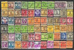 66-U-S-Precancel-Stamps-Used-Chicago-New-York-2