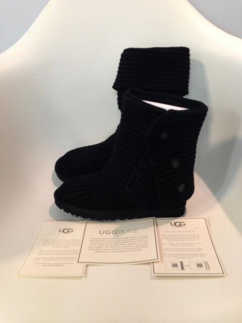 9189f271580 UGG Australia Women's Classic Cardy BOOTS 1016555 Black 9