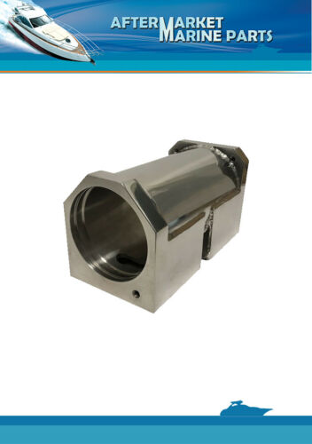 Volvo Penta oil cooler housing RO 860635 Stainless Steel AISI316