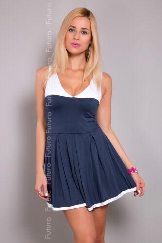 Gorgeous Women/'s Mini Dress V Neck Skater Dress Sleeveless Tunic Size 8-12 8120