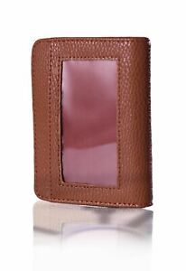 Lock Wallet RFID-Protected Leather Case for IDs and Credit Cards - 2 COLORS! NEW