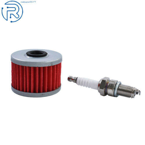 Tune Up Spark Plug Oil Filter for Honda 250SX Big Red 250 Foreman TRX 300 350X