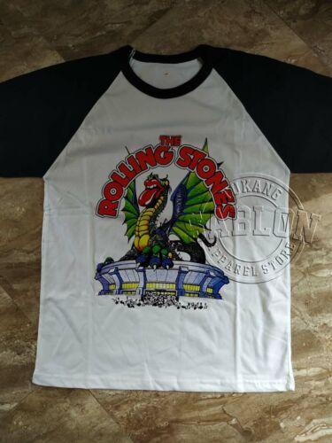 Vintage 1981 Rolling Stones Tour Boulder CO Concert T Shirt Dragon RePrint NEW