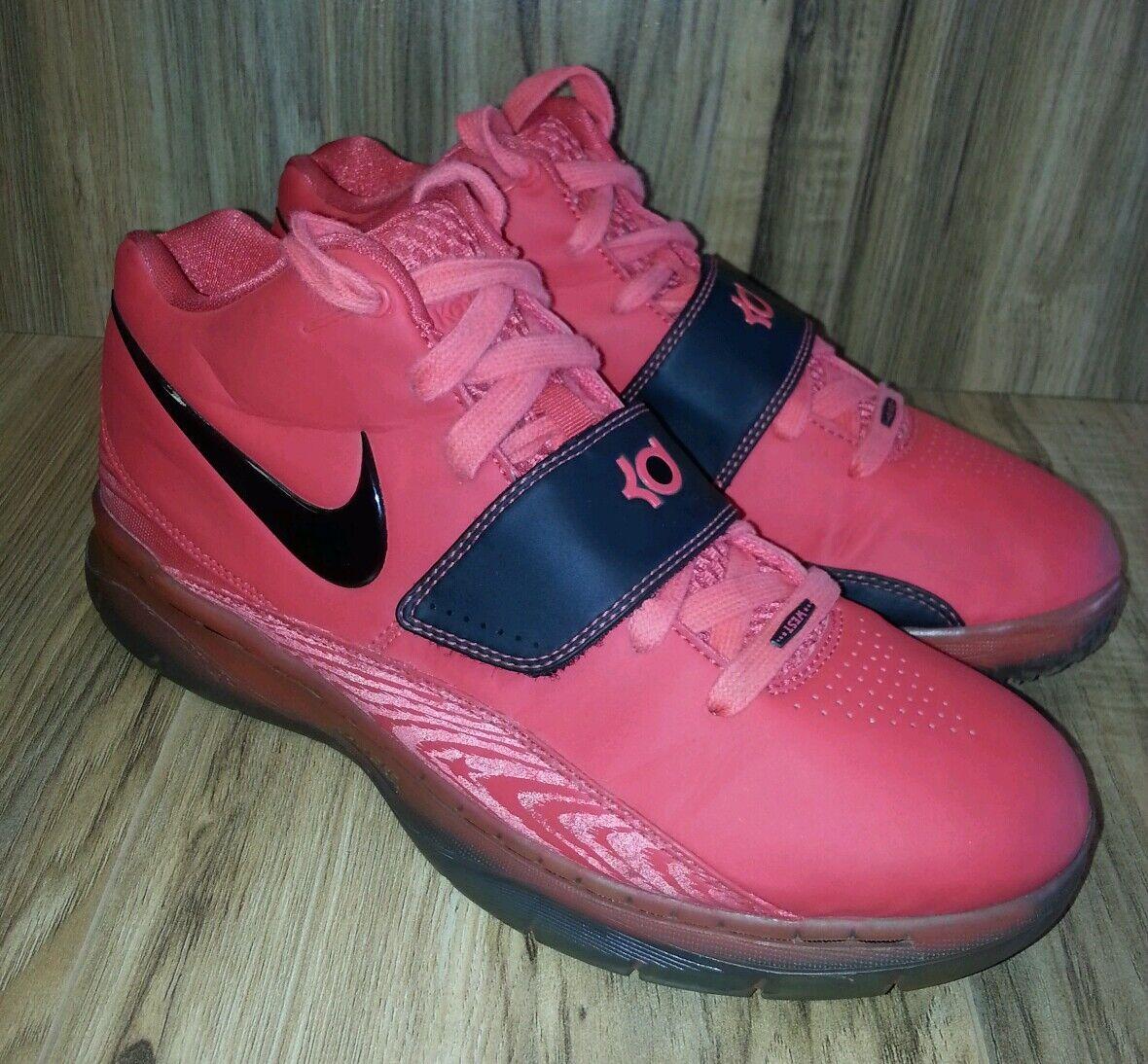 Nike KD II Creamsicle 2 NBA All Star Creamsicle II Kevin Durant Daring Red Black sz 7.5 7521a7