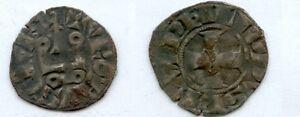 Gertbrolen-Philippe-IV-dit-Le-Bel-1285-1314-Denier-Tournois-Exemplaire-N-16