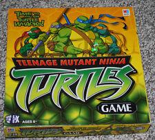 Teenage Mutant Ninja Turtles Board Game Milton Bradley Ages 6+ TMNT 2-4 Players