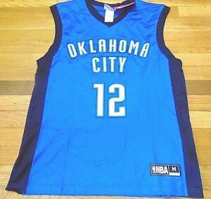 buy popular 55abe e9077 Details about NBA OKLAHOMA CITY THUNDER BLUE STEVEN ADAMS MASS JERSEY SIZE M