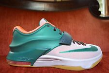 new product b66ee 8557b CLEAN NIKE KD VII sz 11.5 Easy Money Edition Mystic Green Bone Gum Brown  Premium