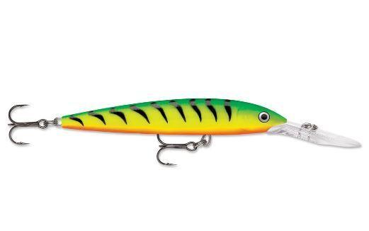 "Glass Pink Clown 4/"" 3//8 oz Fishing Lure Rapala Down Deep Husky Jerk"