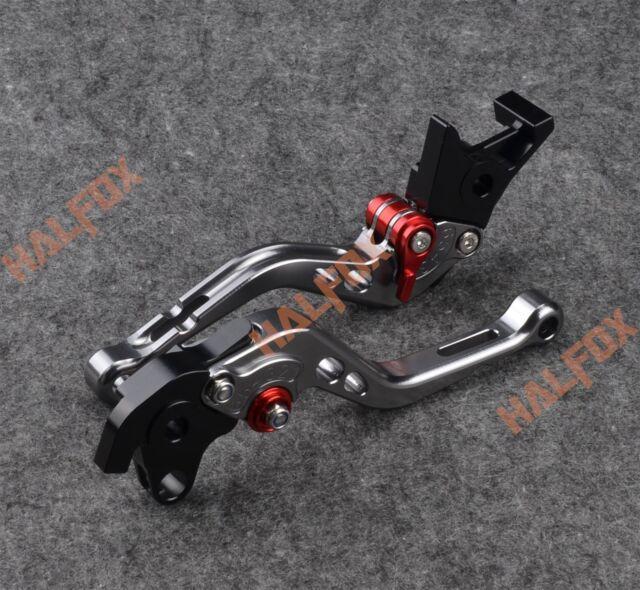 NTB Gray brake clutch levers for Honda CBR1100XX / BLACKBIRD 97-2003