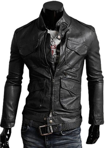 Homme Blouson N8 In Giacca Men Leather Jacket Veste Giubbotto Uomo Di Pelle Cuir vavRwfq