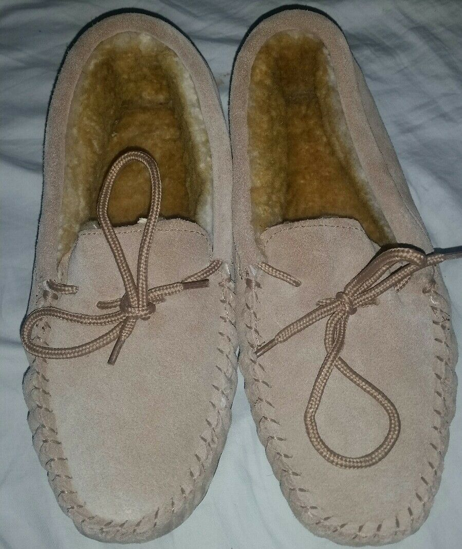 RED WING Suede Fur Loafers Size 8 NWOB