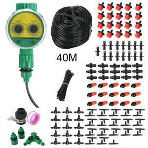 40M-Systemes-d-039-arrosage-Irrigation-goutte-a-goutte-Automatique-tuyau-goutteur