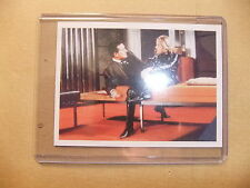 THE TV AVENGERS IN COLOR DIANA RIGG PATRICK MacNEE CORNERSTONE B1 PROMO CARD