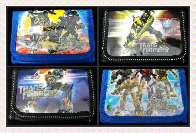 Lot Transformers Kids Cartoon Coin wallets purses Wholesale Wholesale