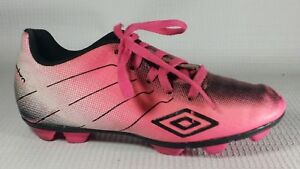 3eabe87e1 UMBRO Arturo Pink Soccer Shoes Cleats Girls 13 Toddler Kids Pink ...