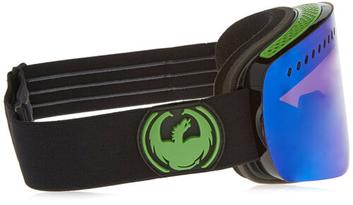 Yellow Blue Ion 2017 NEW 2017 Dragon Alliance NFXS Ski Goggles Jet//Green Ion