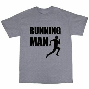 Running-Man-Marathon-Runner-T-Shirt-100-Premium-Cotton-Gift-Present