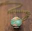 Solar-System-Pendants-Necklace-Galaxy-Planet-Necklace-S-Double-Sided-Glass-Dome thumbnail 24