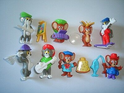 TOM & JERRY 98 KINDER SURPRISE FIGURES SET HANNA BARBERA FIGURINES COLLECTIBLES