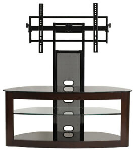 Transdeco Tv Stand W Universal Mount 42 46 50 52 55 60 65 70 Inch