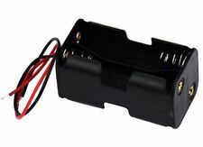 4 Slots AA Slot Battery Case Power Battery holder Storage Plastic Lead 6VDC Box