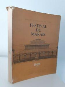 Festival de La Swamp Halles Centro De París 1969 2 Vol. Ilustres Buen Estado