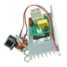 10000w Ac 220v Scr Voltage Regulator Speed Motor Controller Dimmer Thermostat