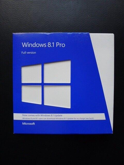 microsoft windows 8.1 pro retail