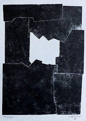 Eduardo Chillida-Cinq Livres Graves-1974 Lithograph