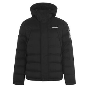 Mens-Timberland-Archive-Padded-Jacket-Puffer-Long-Sleeve-New