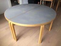 Alvar Aalto, bord, rundtbord, Alvar Alto rundt