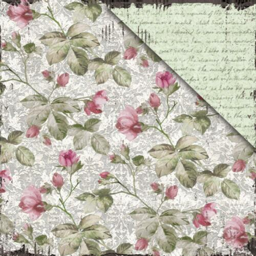 "motivos 30,5 cm Fabscraps vintage Elegance double-sided Cardstock 12x12/"" dif"