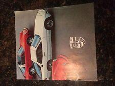 1978 Porsche 911 Dealership Brochure 911 930 Turbo