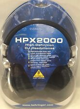 Behringer - HPX2000 - DJ Headphones Studio Earphones